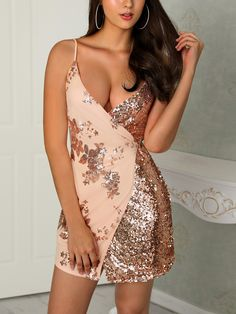 Sequins Wrapped Knot Back Sleeveless Mini Dress Sequins Wrapped Knot Back Sleeveless Mini Dress womens fashion chicme wedding dresses chicme Fashion Style chicme informs you on the latest fashion trends and brings you the hottest # Modest Dresses, Sexy Dresses, Dress Outfits, Short Dresses, Formal Dresses, Mini Dresses, Fall Dresses, Elegant Dresses, Party Outfits