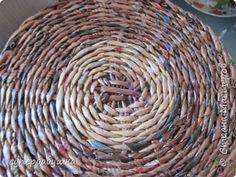 Мастер-класс Поделка изделие Плетение Дно работа над ошибками Трубочки бумажные фото 16