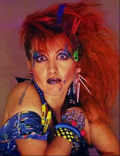 """""""On my darkest days, I wear my brightest colors."""" – Cyndi Lauper Madonna is usually credited with setting the tone for punky-girly 80s style, but remember: Cyndi Lauper was there too – in brighter colours, bleachier hair, and even more piled-on accessories. Decades before Lady Gaga, she made freakdom a badge of honour, and turned …"""
