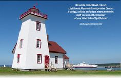 Wood Island lighthouse museum -- would be great for a rainy day in combination with the nearby winery, or on a nice day in combination with the beach! Wood Islands, Prince Edward Island, Nice View, Us Travel, Places To See, Lighthouses, To Go, Pei Canada, Pictures