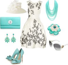 """kentucky derby"" by beach-girl7 ❤ liked on Polyvore"