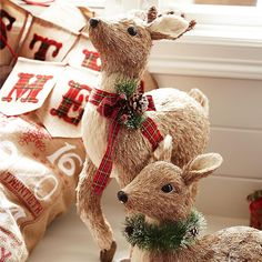 """""""Our natural sisal #reindeer rival the real thing because they seem to go fast every year. If you've adopted any #Pier1 woodland critters, we'd like to see…"""""""