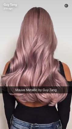 Guy Tang Metallic Mauve