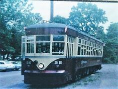 Former Red Arrow trolley in Buckingham, Pa.
