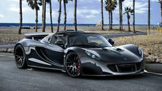 Meet the 2013 Venom GT Spyder from Hennessey Performance, the open top variant of the Venom GT Coupe. A massive bhp kW / 1217 PS) is produced by the Venom GT Spyder's engine and the model's weight is stated to be kg ( lbs ). Pricing for the coupe is set … Luxury Sports Cars, Maserati, Ferrari, Bugatti Veyron, Sexy Cars, Hot Cars, 1 Million Dollar, Supercars, Dream Cars