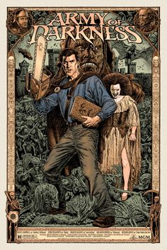 Army of Darkness Posters byChris Weston/Twitter&Jeff...