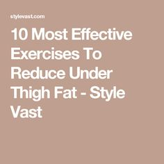 8 Simple & Effective Exercises To Reduce Flank Fat - Page 2 of 3 - Style Vast Exercise To Reduce Hips, Hips Dips, Lose Weight, Weight Loss, Exercises, Workouts, Healthy Habits, Thighs, Fat