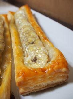 便利なパイシートなんですが、アップルパイやチョコパイばかり作りがちなので色々と開拓中でございます。その中でバナナパイが超簡単で美味しいのでレシピを記したいと思います!