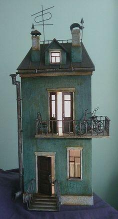 ...a tiny tin house.