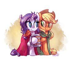 My Little Pony - Applejack x Rarity - RariJack My Little Pony List, My Little Pony Comic, My Little Pony Drawing, My Little Pony Pictures, My Little Pony Friendship, Yuri, My Little Pony Applejack, My Little Pony Characters, Mlp Characters