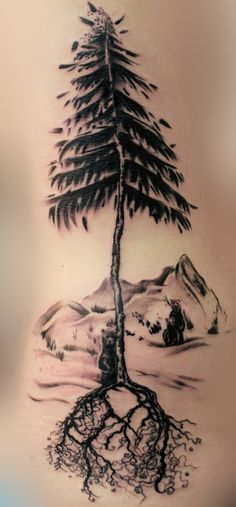 Love this. But with wolves. And more trees going around the arm.