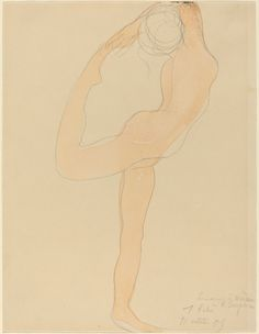 Auguste Rodin ~ The Drawings /Watercolours | Tutt'Art@ | Pittura * Scultura * Poesia * Musica |