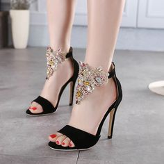 European 2016 Luxury simple Crisscross T-Strap bandage Rhinestone wedding heels sandals for girls women summer suede vintage fashion open toe Flock leather tassel evening sandal high heeled shoes Valentine's novelty party bridal nude platform pumps sandalias shoes zapatos tacones de mujer A6-50
