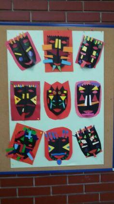 1. razred, kolaž papir
