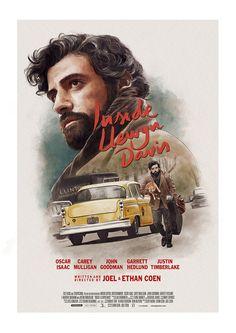 Inside Llewyn Davis by Ignacio - Home of the Alternative Movie Poster -AMP-