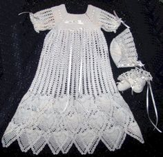 crochet christening gown pattern on Etsy, a global handmade and