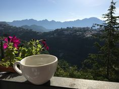 Coffee in the morning in ravello
