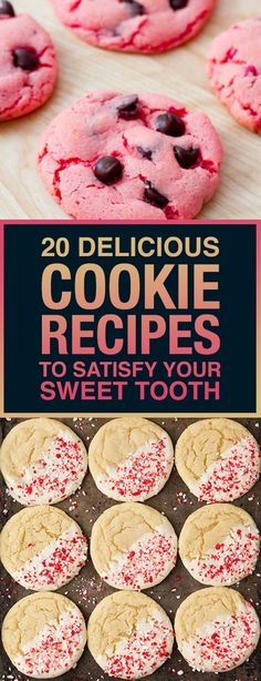 20 Delicious Cookie Recipes To Satisfy Your Sweet Tooth