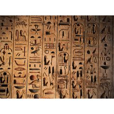 egyptian hieroglyphs ❤ liked on Polyvore featuring backgrounds, egypt, egyptian…