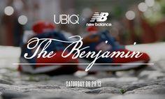 "Teaser & Release Date: UBIQ & New Balance ""Benjamins"""