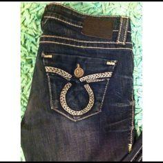 Big Star dark wash denim jeans Perfect condition Big Star jeans. Big Star Jeans
