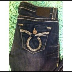 Big Star dark wash denim jeans Perfect condition Big Star jeans. Big Star Jeans
