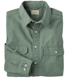Men's Sunwashed Canvas Shirt, Traditional Fit Casual Button Down Shirts, Button Up Shirts, Men's Shirts, Cargo Shirts, Flannel Shirts, Mens Flannel, Canvas Shirts, Casual Wear For Men, Outfits