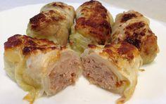 Oggi vi propongo i capunet, un piatto classico della cucina piemonte. Involtini di cavolo verza cotti in forno, con un gustoso e ricco ripieno a basa di ca