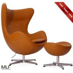 MLF Arne Jacobsen Egg Chair/Ottoman (2.335.295 COP) ❤ Liked On