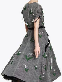 Вещь дня: платье Cyrille Gassiline | Мода | Выбор VOGUE | VOGUE