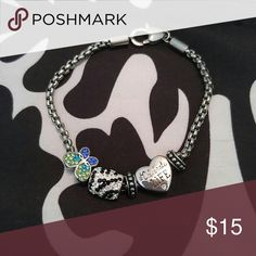 Bracelet Silver with charms Jewelry Bracelets