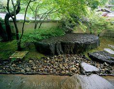 Kaho House  A garden in Kyoto design by Atsushi Akenuji for the painter Akira Kaho.