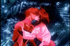 Best part of Outlaw Star.  What can I say, I'm a hopeless romantic...
