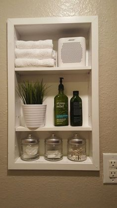 Keeping your bathroom organized and clean isnt easy if you dont have bathroom cabinets. If you dont have a area to organize your toiletries and such, its hard to keep things tidy. Double Sink Bathroom Vanity Makeover – Taryn Whiteaker Source by Bathroom Vanity Makeover, Diy Bathroom, Double Sink Bathroom, Small Bathroom Storage, Bathroom Sink Vanity, Bathroom Shelves, Bathroom Ideas, Small Bathroom Cabinets, Bathroom Remodeling