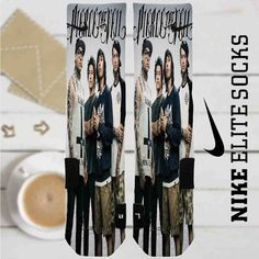 Pierce The Veil Custom Nike Elite Socks