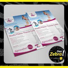 Estúdio de Pilates que Deu Zebra! Em Tupã, SP. #DeuZebra #publicidade #propaganda #agência #Zebra #aideuzebra #agênciapp #comunicação #job #pp #empresa #empreendedorismo #empreendedor #mkt #style #design #off