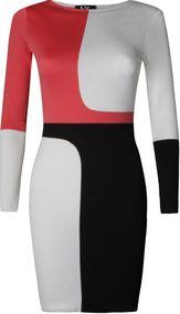 Louise Contrasting Bodycon Dress - Needthatdress.com