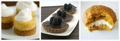 10 mini Thanksgiving Dessert recipes