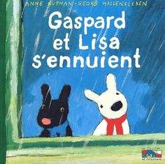 Georg Hallensleben's illustrations are great and I like the Gaspard and Lisa series by Ann Gutman.  All are charming.