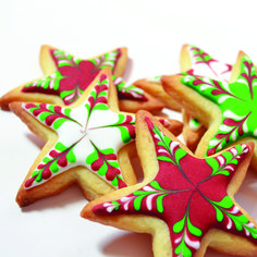 Cool Christmas cookie kit from Sarah Hurley Designs in our boosting Christmas sales feature