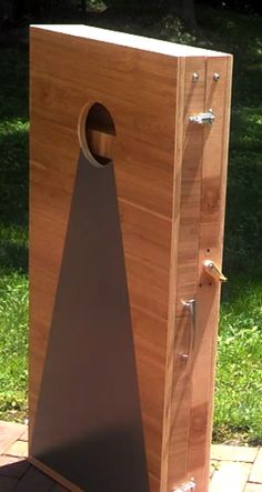Over Engineered Cornhole Boards with Twine Measuring System and Latches | Plan To Build