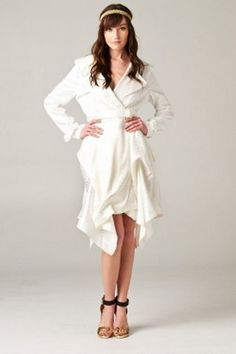 The Long Dressy Jacket Dress is perfect!  Find it at www.soleiboutique.com
