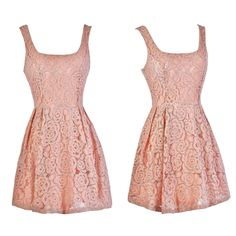 This pink lace dress has an adorable A-line cut:  http://ss1.us/a/3Dqnc6vg