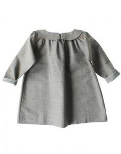 Robe Pétale Taupe LEOCA