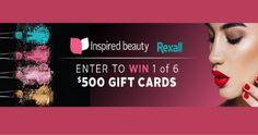 Win a $500 Rexall Gift Card