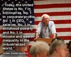 """""""US #1 in billionaires, corp profits, CEO salaries, Child poverty, income & wealth inequality in industrial world"""" pic.twitter.com/tJ4hbmhcGZ"""