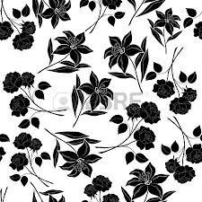 129 best black and white flowers background images on pinterest seamless floral background flowers rose and lily black silhouettes on white vector eps 8 plus ai cs 5 plus high quality jpeg mightylinksfo