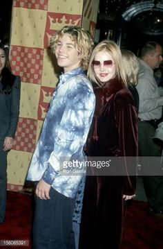 Navarone and Priscilla Presley during 'Harry Potter and The ...