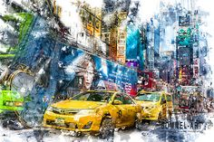 Reportage Fotografie, Times Square, New York, Studio, Business, Painting, Travel, Art, Art Background