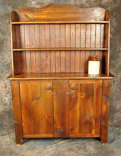 some difficult suggestions for important facets of Best Wood Plans Website Reclaimed Wood Kitchen, Reclaimed Wood Furniture, Solid Wood Furniture, Rustic Furniture, Rustic Wood, Hutch Furniture, Furniture Ideas, Hall Tree Bench, Kitchen Hutch